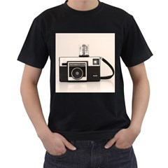 Kodak (3)s Mens' Two Sided T-shirt (Black)