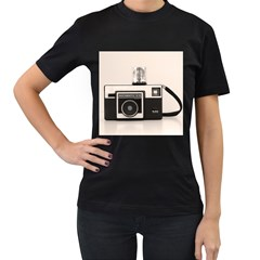 Kodak (3)s Womens' Two Sided T-shirt (Black)