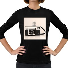 Kodak (3)s Womens' Long Sleeve T-shirt (Dark Colored)