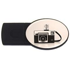 Kodak (3)s 4GB USB Flash Drive (Oval)