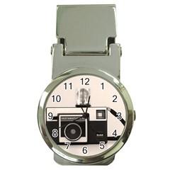 Kodak (3)s Money Clip With Watch
