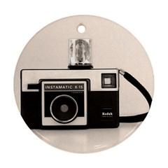 Kodak (3)s Round Ornament (Two Sides)