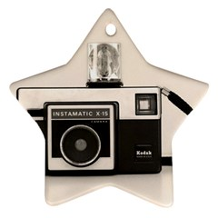 Kodak (3)s Star Ornament (Two Sides)