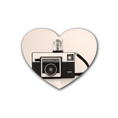 Kodak (3)s Drink Coasters (Heart)
