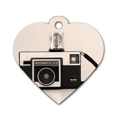 Kodak (3)s Dog Tag Heart (Two Sided)