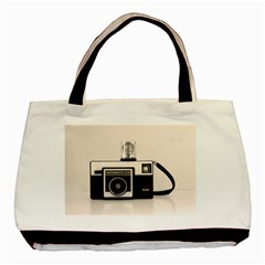 Kodak (3)s Twin Sided Black Tote Bag