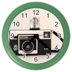 Kodak (3)s Wall Clock (Color)