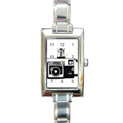 Kodak (3)cb Rectangular Italian Charm Watch