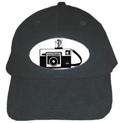 Kodak (3)cb Black Baseball Cap