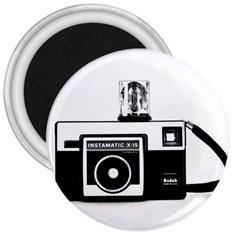 Kodak (3)cb 3  Button Magnet