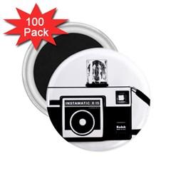 Kodak (3)cb 2.25  Button Magnet (100 pack)