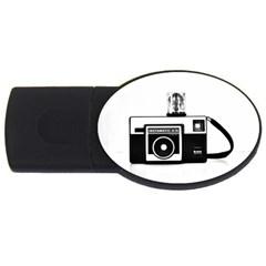 Kodak (3)cb 1GB USB Flash Drive (Oval)