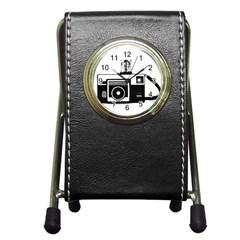 Kodak (3)cb Stationery Holder Clock