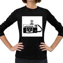 Kodak (3)cb Womens' Long Sleeve T-shirt (Dark Colored)
