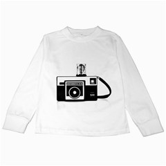Kodak (3)cb Kids Long Sleeve T-Shirt