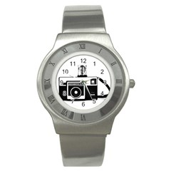 Kodak (3)cb Stainless Steel Watch (Unisex)