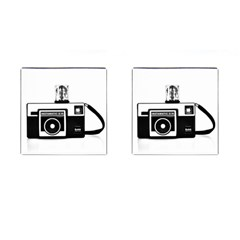 Kodak (3)cb Cufflinks (Square)