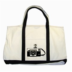Kodak (3)cb Two Toned Tote Bag