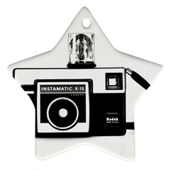 Kodak (3)cb Star Ornament (Two Sides)