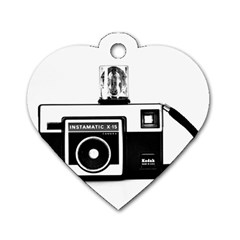 Kodak (3)cb Dog Tag Heart (Two Sided)