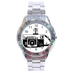 Kodak (3)cb Stainless Steel Watch (Men s)