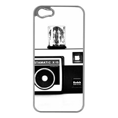 Kodak (3)cb Apple iPhone 5 Case (Silver)
