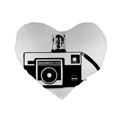 Kodak (3)cb 16  Premium Heart Shape Cushion