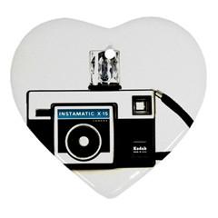 Kodak (3)c Heart Ornament