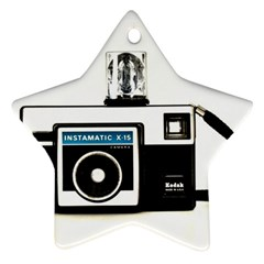 Kodak (3)c Star Ornament