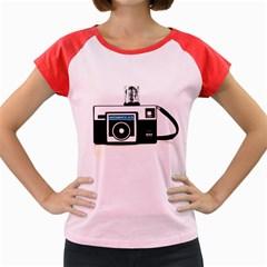 Kodak (3)c Women s Cap Sleeve T Shirt (colored)