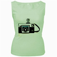 Kodak (3)c Womens  Tank Top (Green)