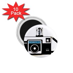 Kodak (3)c 1.75  Button Magnet (10 pack)