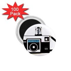 Kodak (3)c 1.75  Button Magnet (100 pack)