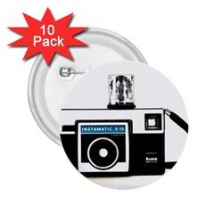 Kodak (3)c 2 25  Button (10 Pack)