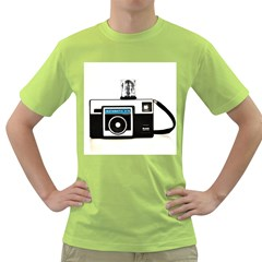 Kodak (3)c Mens  T-shirt (Green)