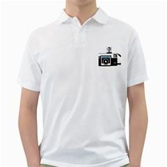 Kodak (3)c Mens  Polo Shirt (White)
