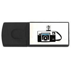 Kodak (3)c 2GB USB Flash Drive (Rectangle)