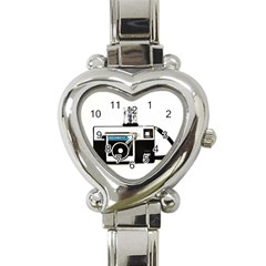 Kodak (3)c Heart Italian Charm Watch