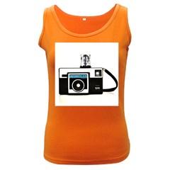 Kodak (3)c Womens  Tank Top (Dark Colored)