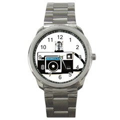 Kodak (3)c Sport Metal Watch
