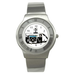 Kodak (3)c Stainless Steel Watch (unisex)