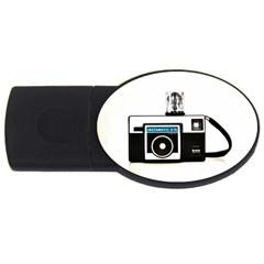 Kodak (3)c 4gb Usb Flash Drive (oval)