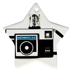 Kodak (3)c Star Ornament (Two Sides)
