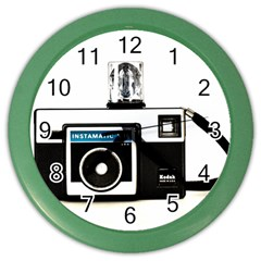 Kodak (3)c Wall Clock (Color)