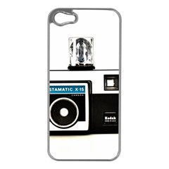 Kodak (3)c Apple iPhone 5 Case (Silver)