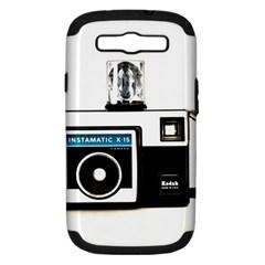Kodak (3)c Samsung Galaxy S III Hardshell Case (PC+Silicone)