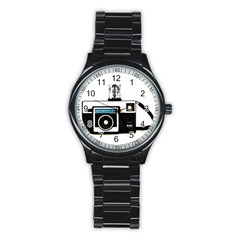 Kodak (3)c Sport Metal Watch (Black)