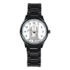 Img 2067con Sport Metal Watch (Black)
