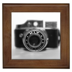 Hit Camera (2) Framed Ceramic Tile