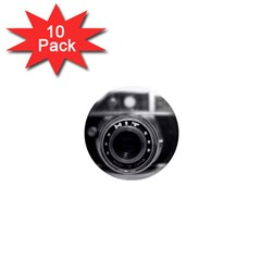 Hit Camera (2) 1  Mini Button Magnet (10 Pack)
